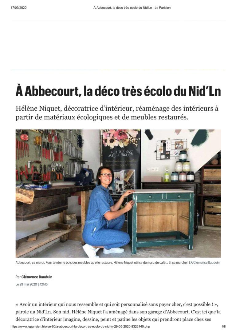 le_nid_ln atelier article le parisien